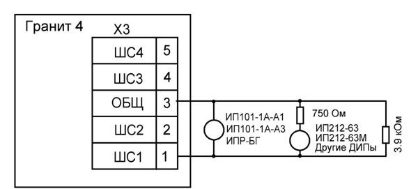 Схема подключения лампы и
