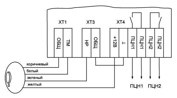схема подключения кварцевого обогревателя